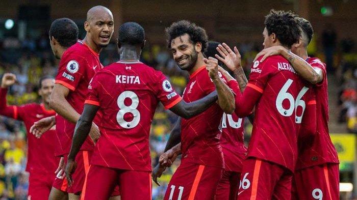 Daftar Skuat Liverpool di Liga Champions Musim ini, The Reds vs AC Milan Duel Luka Lama Tersaji