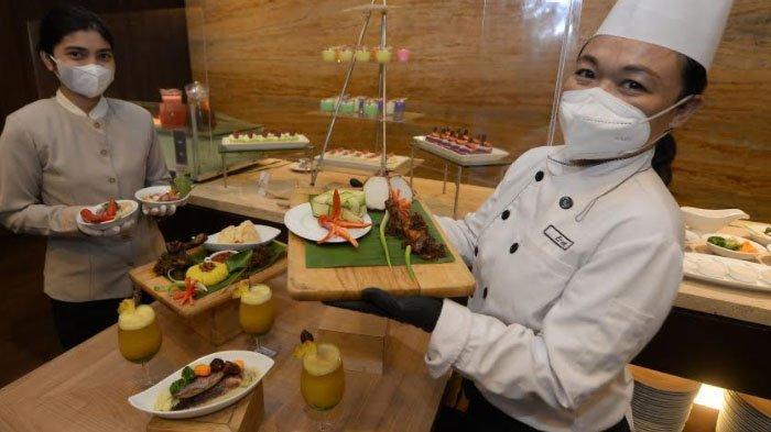 Sentuhan Kurma pada 3 Hidangan Nusantara Santika Pandegiling Sambut Ramadan dan Idul Fitri 2021