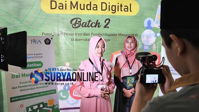 Galeri Foto Pelatihan Dai Muda Digital Universitas Brawijaya untuk Tangkal Hoaks