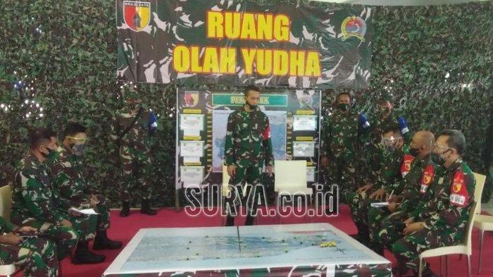 Kodim 0829 Bangkalan Siapkan Kekuatan Personil untuk Tangani Bencana Alam
