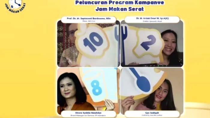 Danone SN Indonesia Ajak Para Ibu Biasakan Makan Makanan Berserat lewat Kampanye Jam Makan Serat