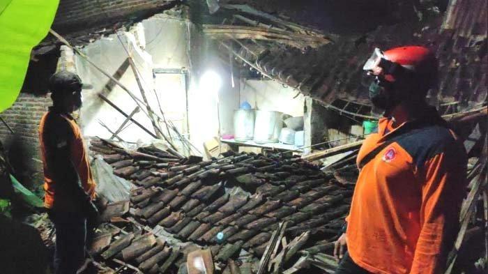 Data Dampak Gempa Blitar hingga Sabtu, 77 Bangunan Rusak Termasuk Puskesmas Wates, Ada Korban Luka