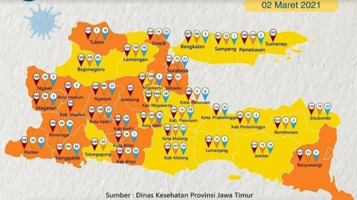 Kabupaten Bojonegoro Zona Kuning Sebaran Covid-19, Satgas Beberkan Penyebab Perubahannya