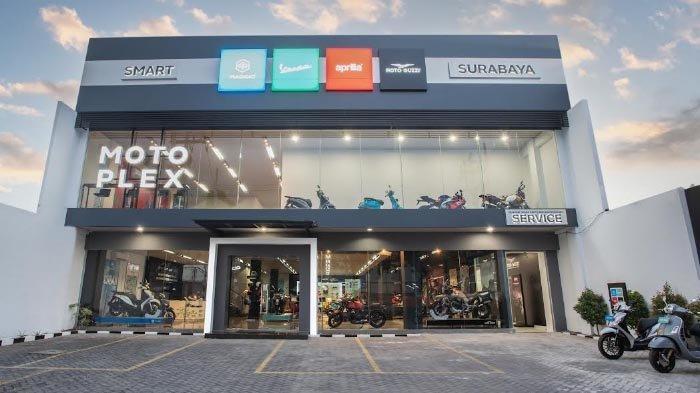 Piaggio Indonesia Buka Diler Premium Motoplex 4 Brand di Pusat Kota Surabaya