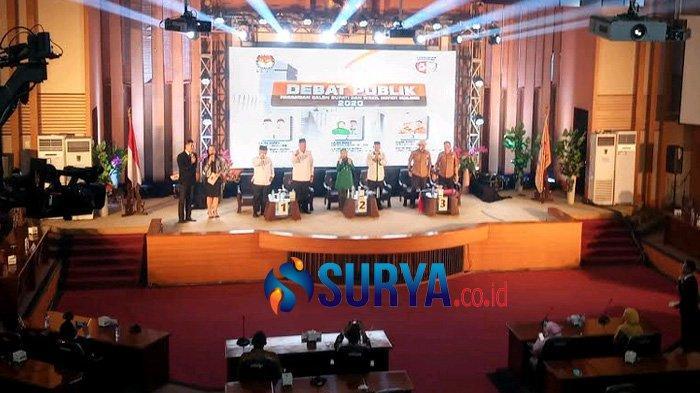 Debat Perdana Pilkada Malang Panas, Sam HC Kecewa Tidak Ada Saling Sanggah
