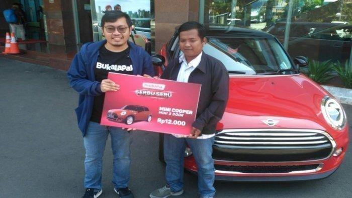Mini Cooper yang Dibeli Dedi Haryadi Rp 12 RIbu dari Bukalapak Ditawar Rp 500 Juta, ini Jawabannya!