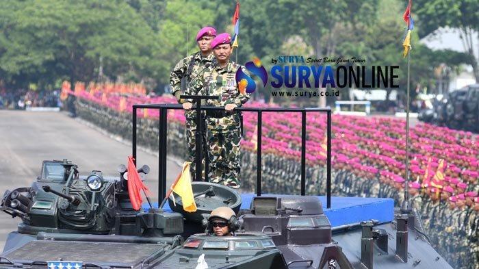 Galeri Foto - HUT Korps Marini ke-74 di Lapangan Kesatrian Sutedi Senaputra Surabaya