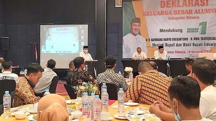 Keluarga Besar Alumni ITS di Sidoarjo Deklarasi Dukung untuk BHS-Taufiq