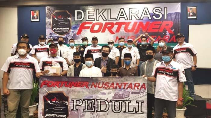 Santunan Anak Yatim dan Touring Meriahkan Deklarasi Fortuner Nusantara