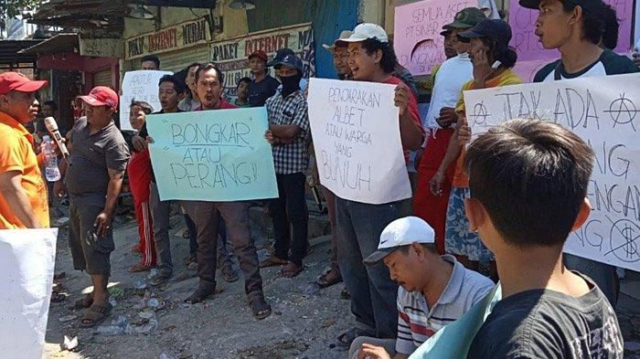 1 Orang Meninggal Terbenam Lumpur di Sukomanunggal, Warga Demo Tuntut PT Sinar Suri Dihukum
