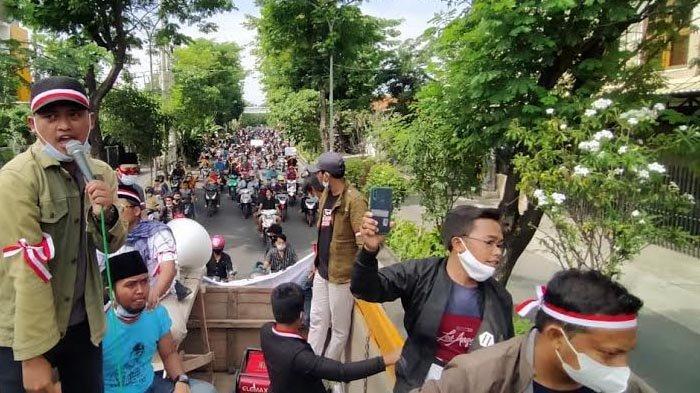 Disebut Ada 4 Ribu Warga Madura yang Bergerak Ikut Demo ke Kantor Wali Kota Surabaya