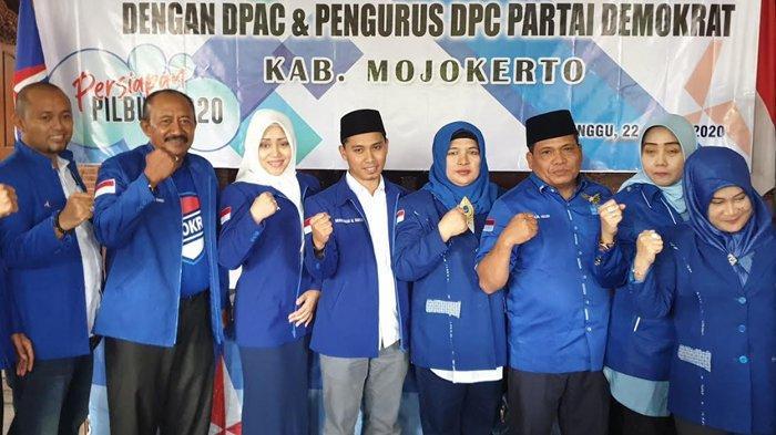 DPC Partai Demokrat Dukung Ikhfina dan Gus Barra Sebagai Kandidat Bacalon Bupati Mojokerto