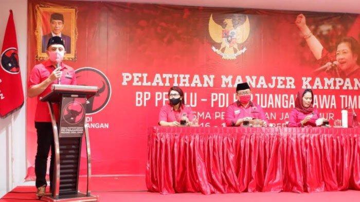 Target Menang di 13 Daerah, PDI Perjuangan Jatim Geber Pelatihan Manajer Kampanye