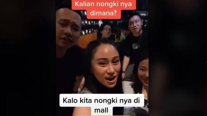 Denise Chariesta, viral di TikTok 'Orang kaya nongkrong di mal'