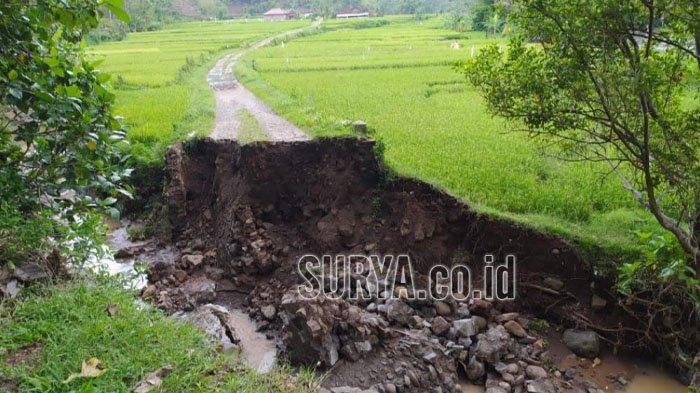 Tahun 2020, Jumlah Bencana Alam di Ponorogo Turun, Tanah Longsor dan Banjir Masih Mendominasi