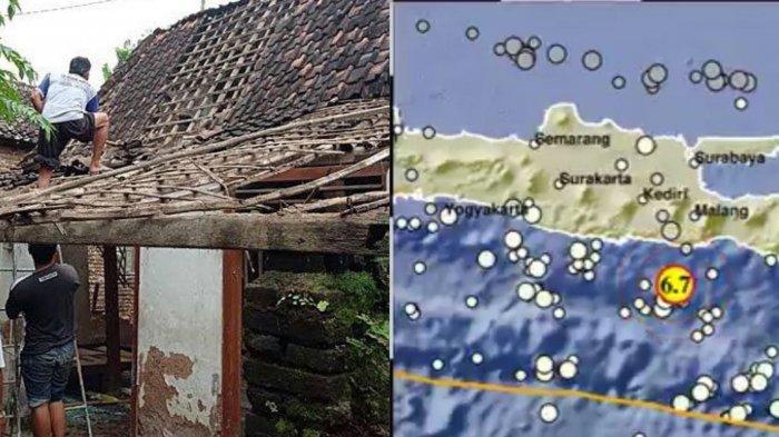 Detik-detik Ibu di Ponorogo Selamatkan 2 Anaknya dari Reruntuhan Tembok Rumah Saat Terjadi Gempa