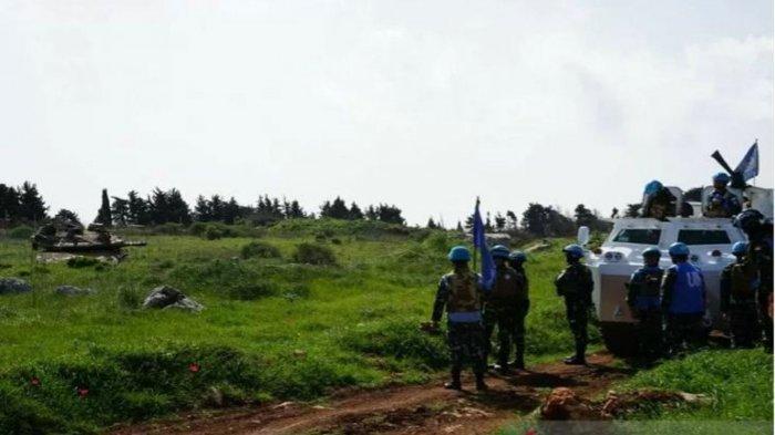 Detik-detik Mencekam Prajurit TNI Mengadang 3 Tank Israel di Perbatasan Lebanon
