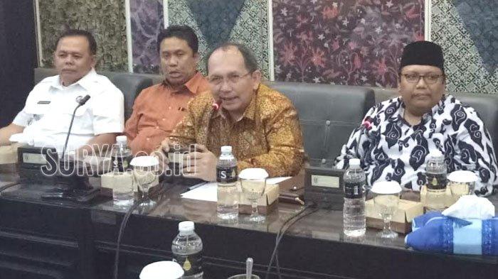 Kumpulkan Penyelenggara Pemilu, DPRD Jatim Ingatkan soal  ini dalam Pilkada Serantak 2018