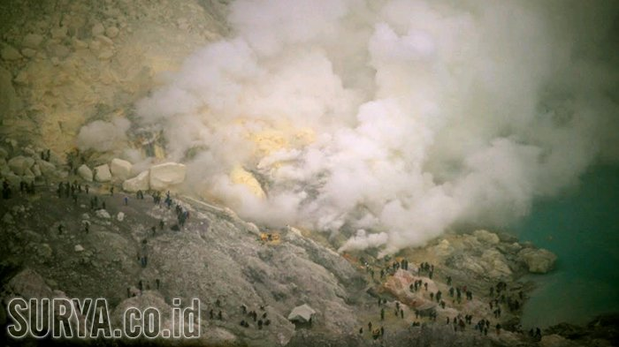 Update Warga Bondowoso Keracunan Gas Kawah Gunung Ijen, Begini Kondisi Terbaru Mereka
