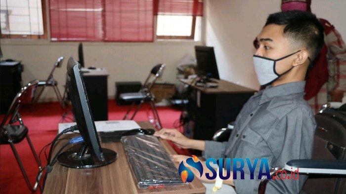 Pusat UTBK di Surabaya Terapkan Protokol Kesehatan Ketat