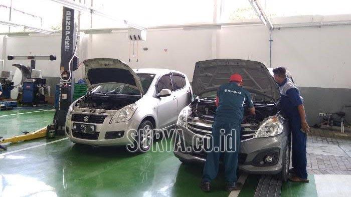 Cek Dulu Kendaraan Sebelum Berlibur, Diler Suzuki UMC Sidoarjo Buka Nonstop