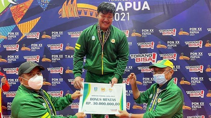 Moncer, Atlet Lamongan Kembali Sumbangkan Medali Emas untuk Jatim di PON XX Papua 2021