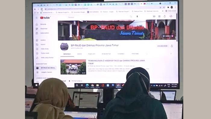 Pendidik PAUD Kota Kediri Dilatih Bikin Video Pembelajaran Berkualitas