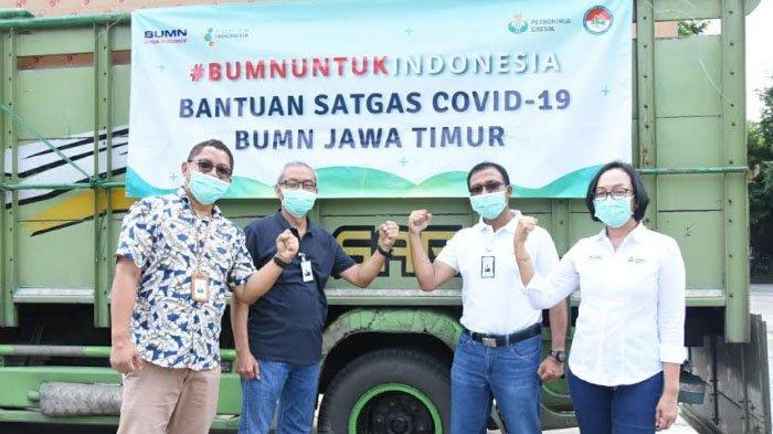Petrokimia Gresik Kirim Logistik Kesehatan ke Posko BUMN untuk Cegah Penyebaran Corona
