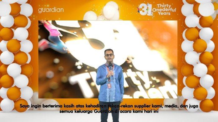 Guardian Beri Penghargaan Pada Sosok Inspiratif pada Acara HUT ke-31 Guardian Indonesia