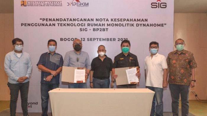 SIG Hadirkan Solusi Teknologi Konstruksi DynaHome di Sumatera Selatan