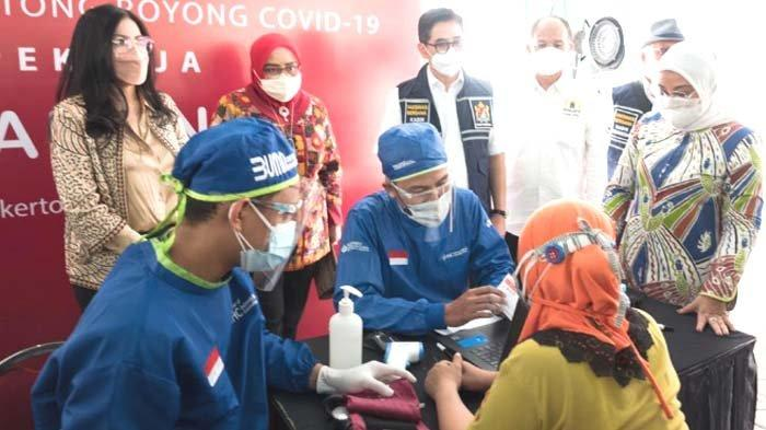 Kadin Indonesia dan HM Sampoerna Gelar Vaksinasi untuk Ribuan Pekerja di Berbagai Daerah