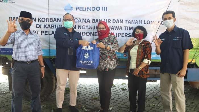 Peduli Bencana, Pelindo III Kirim Bantuan untuk Korban Longsor di Nganjuk