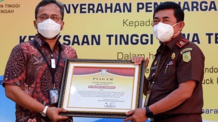 Pelindo III Terima Ganti Rugi Kerusakan Fasilitas Bongkar Muat Pelabuhan Tanjung Emas Semarang
