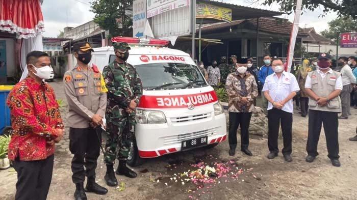 PO Bagong Bantu Mobil Ambulans untuk Percepatan Penanganan Covid-19 di Kabupaten Malang