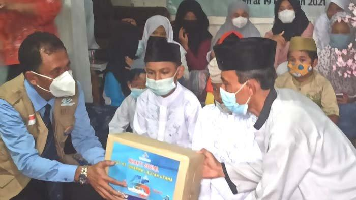 Kunjungan ke Panti Asuhan Akhiri Rangkaian Perayaan HUT Ke-45 Dharma Lautan Utama(DLU)