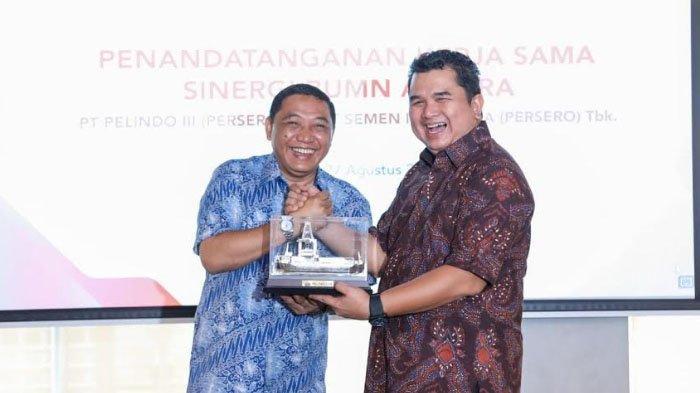 Pelindo III dan Semen Indonesia Sinergikan Operasi Logistik, Energi dan Kepelabuhanan