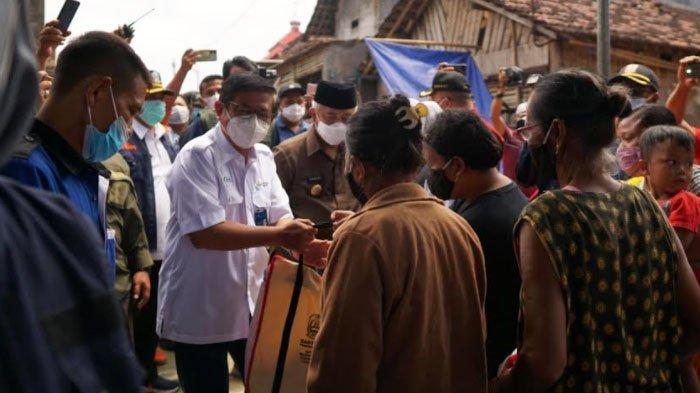 Petrokimia Gresik Salurkan Ribuan Paket Sembako untuk Korban Gempa di Malang Jatim