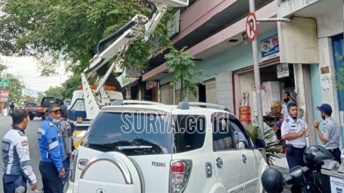 Dishub Batu Rekayasa Perubahan Titik Parkir di Jalan Gajah Mada, Ini Alasannya