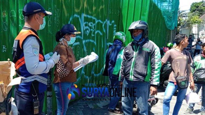 Ini Tata Cara dan Lokasi Pembagian Hand Sanitizer Gratis Pemkot Surabaya untuk Para Driver Ojol