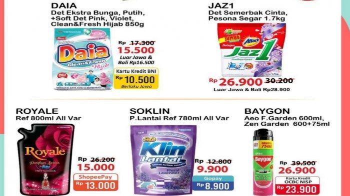 Promo Alfamart dan Indomaret Senin 9 Agustus 2021 Banyak Diskon Menyambut Hari Kemerdekaan
