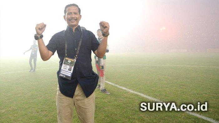 Djadjang Nurdjaman Akui Motivasi Pemain Persebaya Surabaya Meningkat Karena Dukungan Bonek
