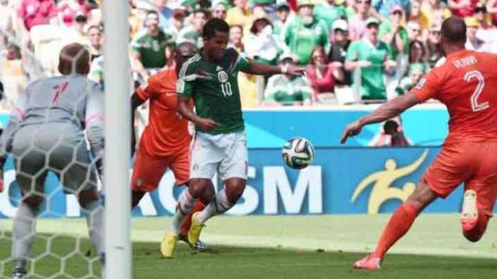 Meksiko VS  Venezuela Imbang 1-1, Keduanya Masuk Perempat Final
