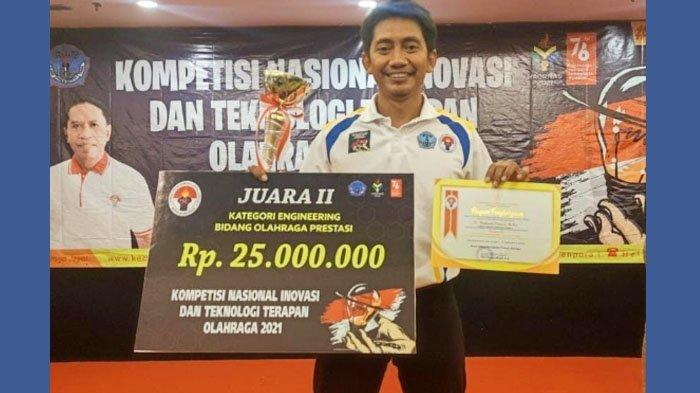 Karya 3 Dosen Unesa Raih Juara Kompetisi Nasional Inovasi dan Teknologi Terapan Olahraga Kemonpora