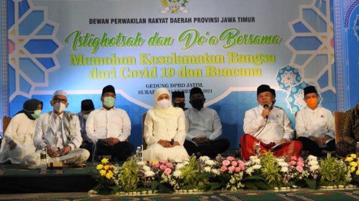Gelar Istighotsah untuk Rakyat, Ikhtiar Batin DPRD Jatim Minta Perlindungan dari Covid dan Bencana