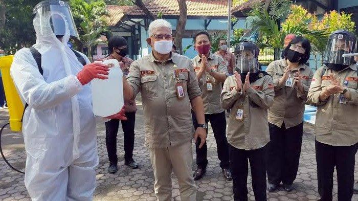 Cegah Peningkatan Angka Penyebaran Covid-19, Dinsos Jatim Launching Aksi Gerakan Peduli PPKS