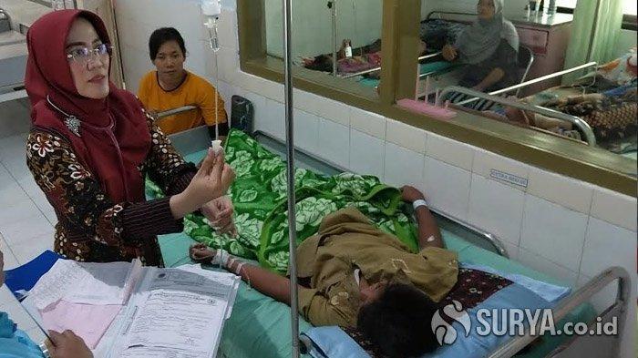 Pasien Demam Berdarah di Trenggalek Meningkat, RSUD dr Soedomo Sediakan Ranjang Tambahan