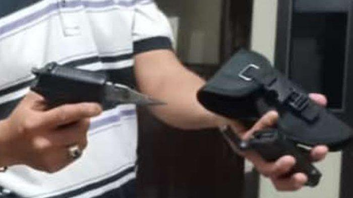 Bawa Sangkur Mirip Pistol, Driver Taksi Online Kepergok Curi Barang Milik Jamaah Masjid