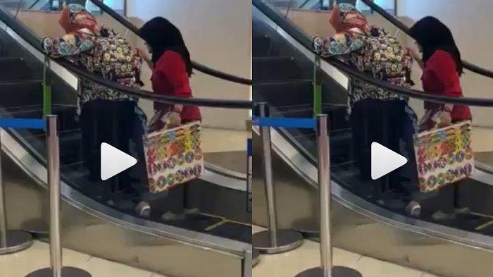 Video Tak Terduga 2 Ibu Ini Bikin Netizen Ngakak sekaligus Mengelus Dada
