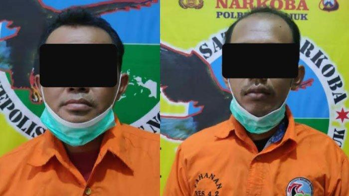 Diduga Edarkan Sabu-sabu, Dua Petani di Kabupaten Nganjuk Ditangkap Polisi