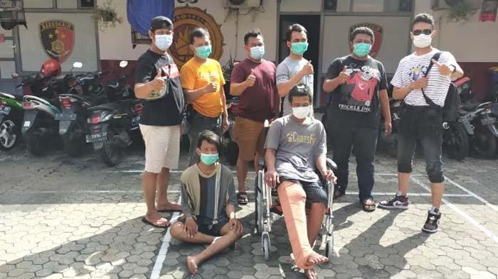 Kenal di Lapas, Dua Residivis Curanmor di Surabaya kembali Beraksi, Ditembak Polisi karena Melawan